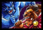 who's the real beast now by Diser25