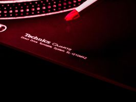 Technics SL-1210MK2 - lilac business by elDenim
