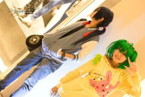 Casual Alto and Ranka by karincossette