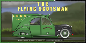 The Flying Scotsman's Duck by truemouse