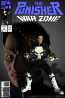 Punisher 3D Comic Book Cover by jpapasso