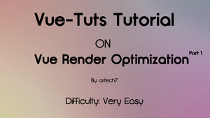 Optimize Render Settings pt. 1 by artech7