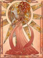 Jasper Irinka in Mucha style by BiPiCado