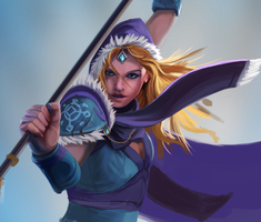 Crystal Maiden Wip2 by entroz