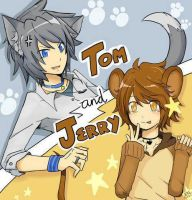 Tom y Jerry Anime version by EyelessSam96