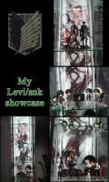 Levi/Snk figure collection by xXBeatoUshiromiyaXx