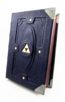 Blue book of Hyrule by MilleCuirs