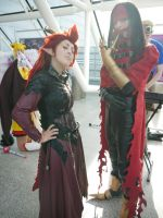 Axel and...Vincent? MCM Oct '12 by KaniKaniza