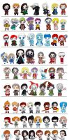 Harry Potter Chibi Bundle by Laura-Bosley