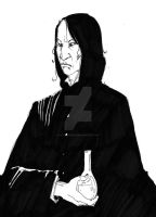 Professeur Snape by Alice-Bobbaji