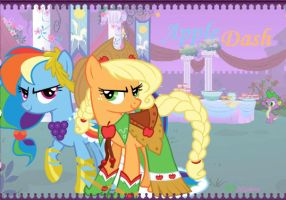 Appledash: At the Gala by Delousionist