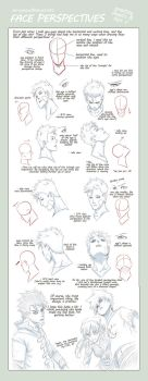 TIPS: Head n Face Perspectives by kaidoptables