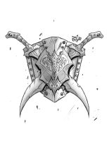 Steves Shield and Swords Tattoo by ZipDraw