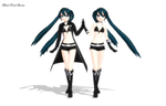 MMD - Black Rock Shooter Download! by XxRandomParanoiaxX