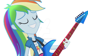 EQG Rainbow Rocks Rainbow Dash Vector 4 by ABToons