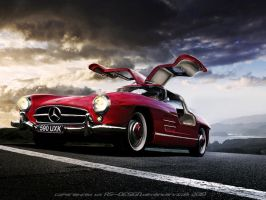 Mercedez Benz Sl 300 Gullwing by RS--Design