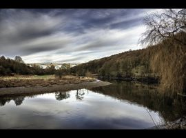 The Banks of the River Wear by Wayman