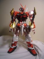 PG Astray Red Frame by lupesisagundam