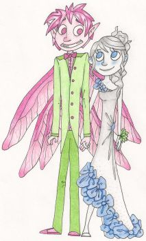 Cotton Candy Couple by Terrajaide