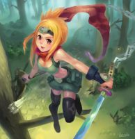 Ninja of the months by lascalis