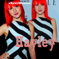 Hayley Blend by xRawrMonster