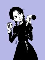 Wednesday Addams by Rserradx