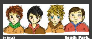 south park. by FioLoX