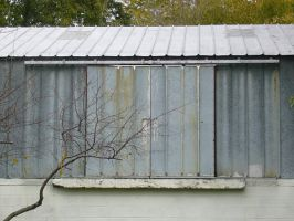 Rail Road Storage Shed Door by dull-stock