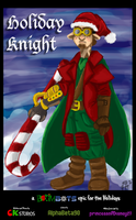 BOOMBOTS presents Holiday Knight #1 by CKToonStudios