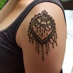 Shoulder Cap Henna by flowerwills