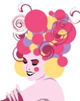 Detail fruit lady by remdesigns