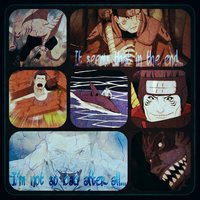 Request #1: Kisame Hoshigaki Collage by CrimsonShea