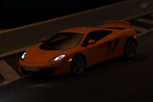 mclaren mp4 12c by JoshuaCordova