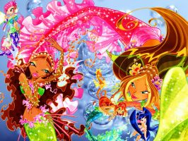 Winx Mermaids by xXLolipopGurlXx
