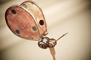 Steam punk butterfly by Spademm