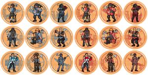 Team Fortress 2 Buttons by zynwolf