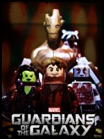 Guardians Of The Galaxy by guyver