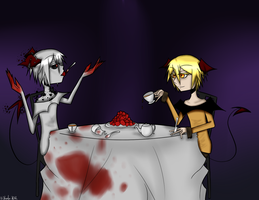 AA: Andie's Tea Party by theladywithglasses