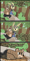 The Adventures of Bruce the Bear by bANANA-jAM