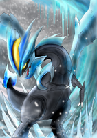 Kyurem the frozen lord by Dr-Platinum
