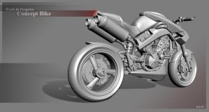WIP - Concept Bike by KevDC