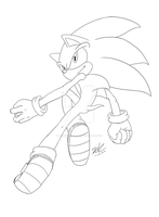 Collab: Sonic by ShadowReaper12