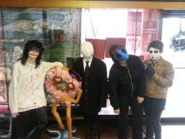 Creepypasta tribe by LostWoodsCosplay