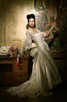 Period Wedding Gown by jaytablante