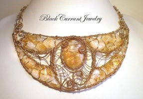 Gismonda on white by blackcurrantjewelry