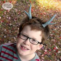 NEW Goin' Stag Horns in Charcaol Gray by che4u