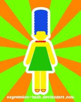 marge simpsons by expression-bath