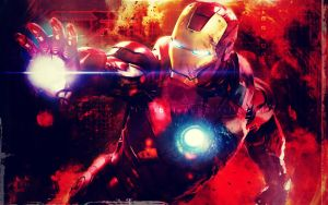 Iron Man by bubblenubbins