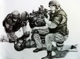 indonesian army by BombAsoldier