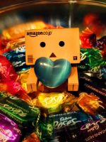 Danbo chocolate love by Profail